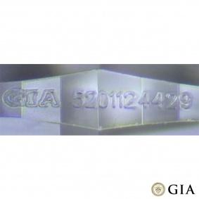 18k White Gold Round Brilliant Cut Diamond Ring 1.01ct G/VS1